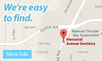 Click for contact info for Thunder Bay dentist office Memorial Avenue Dentistry.