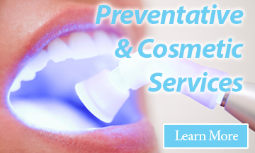 Click here to learn about the services available in our Thunder Bay dentist office.